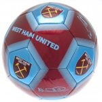 Futbalová lopta West Ham united - signature