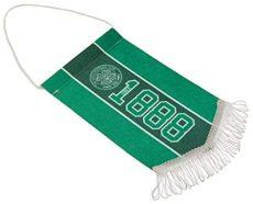 Vlajka do auta Celtic FC