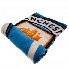 Flísová deka Manchester City F.C- (oficiálny produkt)