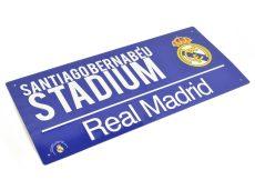 Retro ceduľka Real Madrid FC
