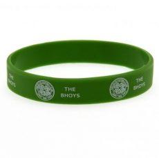 Silikónový náramok Celtic FC