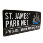 Retro ceduľka Newcastle United FC