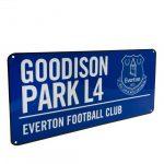 Retro ceduľka Everton FC