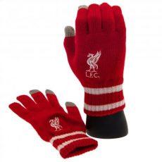 Pletené rukavice Liverpool FC
