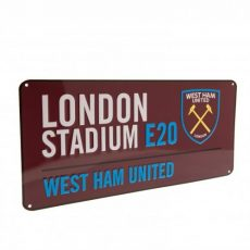 Retro ceduľka West Ham United FC
