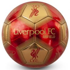 Futbalová lopta FC Liverpool -  Signature