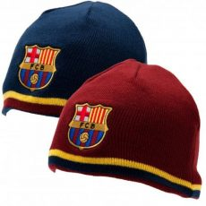 Pletená čiapka FC Barcelona - obojstranná