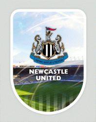 3D nálepka Newcastle United FC