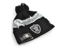 Pletená čiapka Oakland Raiders