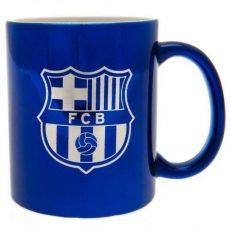 Hrnček FC Barcelona - metalický