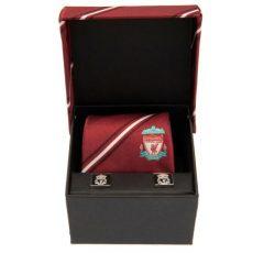 Kravata a manžetové gombíky Liverpool FC