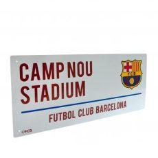 Retro ceduľka FC Barcelona