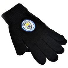 Pletené rukavice Manchester City FC