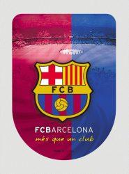 3D nálepka FC Barcelona
