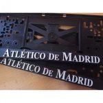 Držiaky na ŠPZ Atletico Madrid