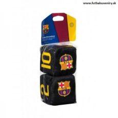 Plyšové kocky do auta FC Barcelona