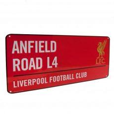 Retro ceduľka FC Liverpool