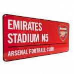Retro ceduľka Arsenal FC