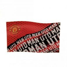 Vlajka Manchester United FC - text